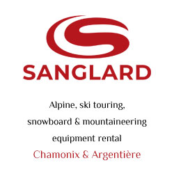 Sanglard Sports, alpine, ski touring, snowboard & mountaineering equipment rental Chamonix, Argentière, Vallorcine