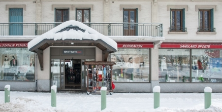 Magasin Sanglard Sports de Chamonix