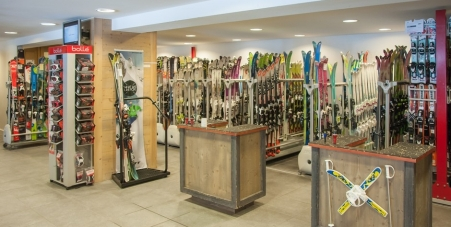 Magasin Sanglard Sports de Argentière